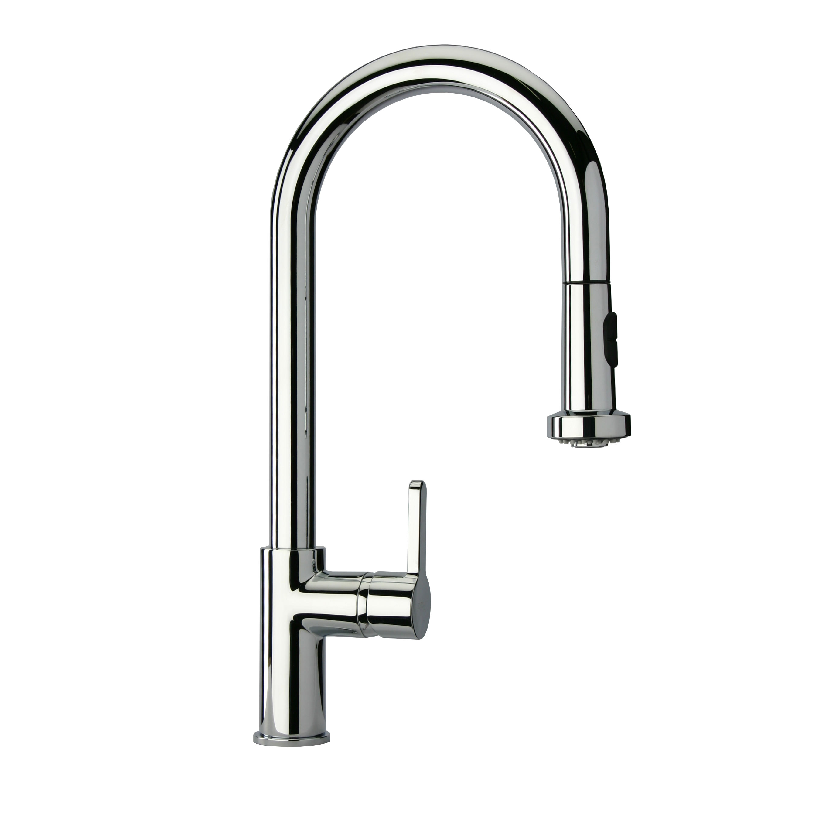 LaToscana-92CR591LL  SINGLE HANDLE PULL-DOWN SPRAY KITCHEN FAUCET IN CHROME