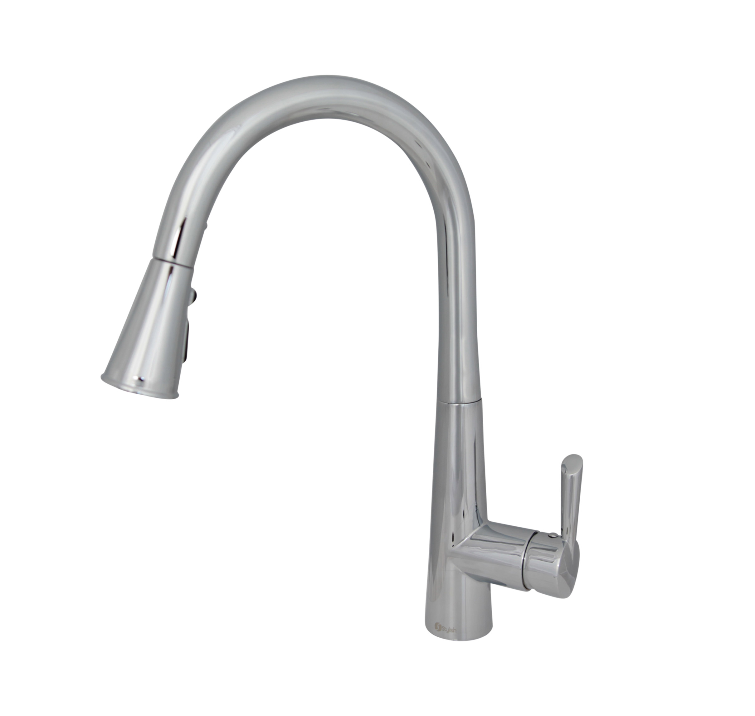 Stylish - K-106C  - Pull Down Single Handle Kitchen Faucet - Chrome
