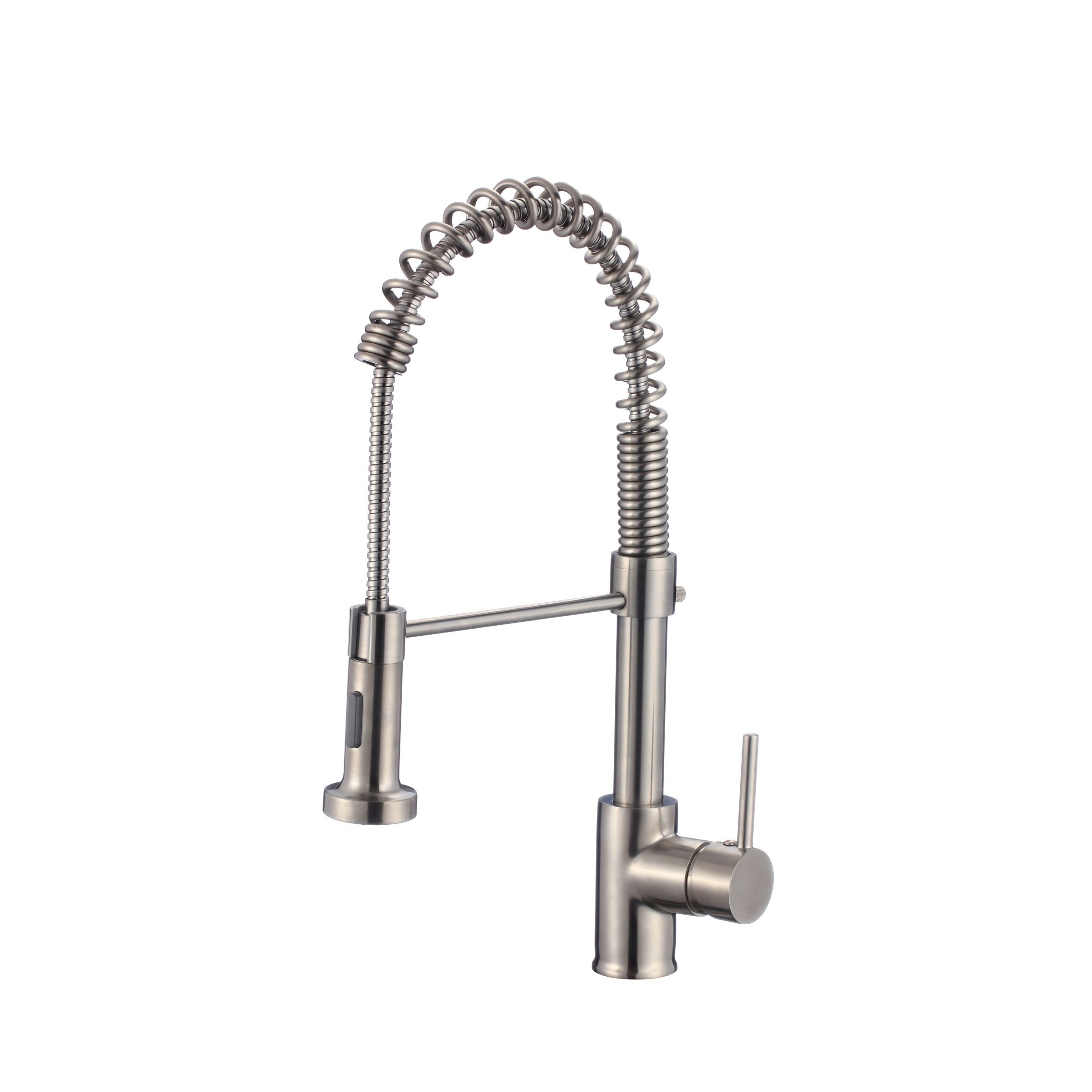 Stylish - Milano K-107B Pull Down Kitchen Faucet in Brushed Nickel