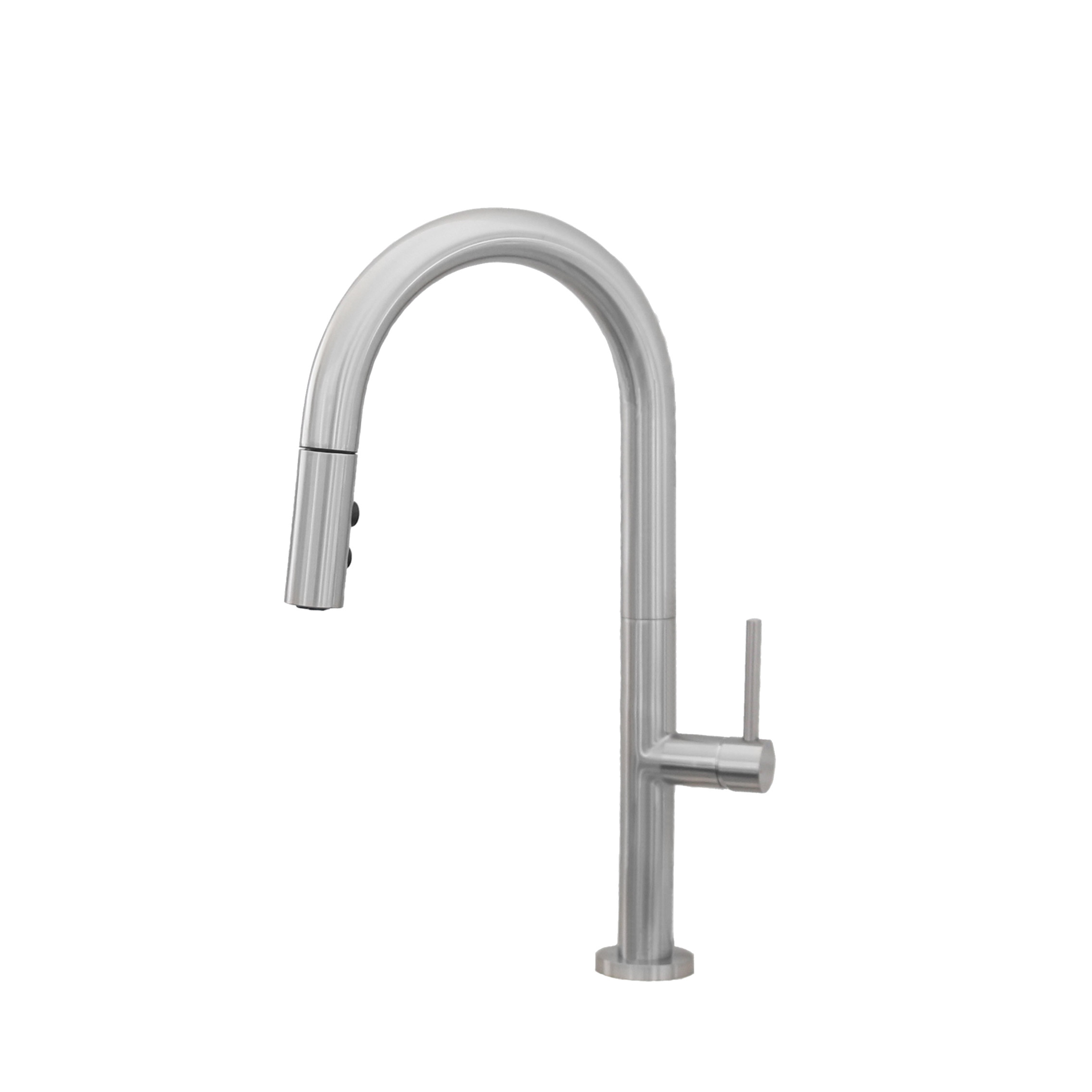 Stylish - Catania K-141B  Pull Down Single Handle Kitchen Faucet - Brushed Nickel