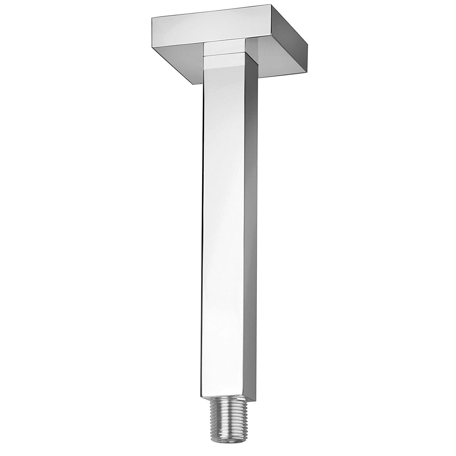 LaToscana-SQCR74406 Chrome 6 in. ceiling mount shower arm with strengthened fixing