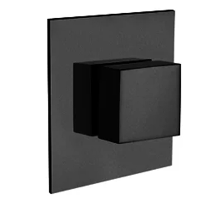 LaToscana - Quadro QUBL400 Volume Control Valve and Trim in Black