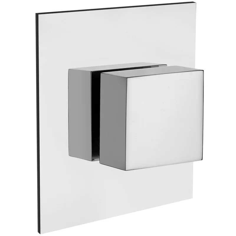 LaToscana - Quadro QUCR400 Volume Control Valve and Trim in Chrome