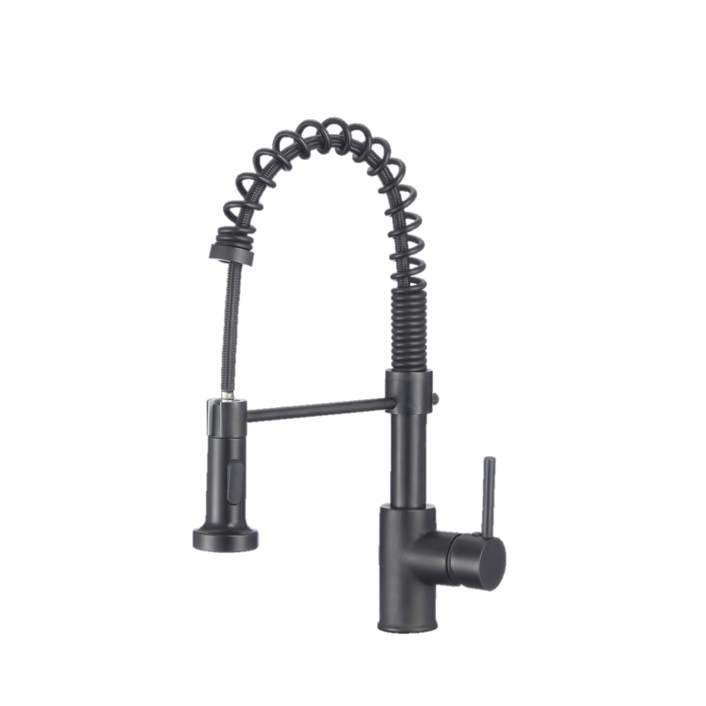 Stylish - Pull Down Kitchen Faucet  K-107N Matte Black