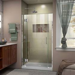 DreamLine Unidoor-X D12306572-01 Hinged Shower Door in Chrome