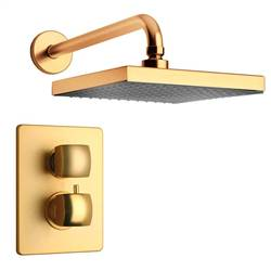 LaToscana - LADY Shower Option 1 Satin Gold