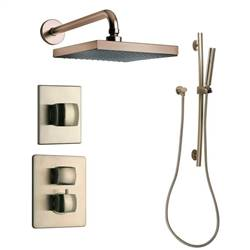 LaToscana - LADY Shower Option 3 Brushed Nickel