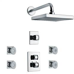 LaToscana - LADY Shower Option 6 Chrome