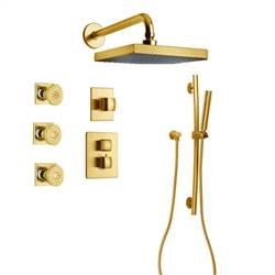 LaToscana - LADY Shower Option 7 Satin Gold