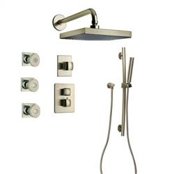 LaToscana - LADY Shower Option 7 Brushed Nickel