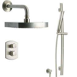 LaToscana - NOVELLO Shower Option 2 Brushed Nickel