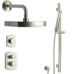 LaToscana - NOVELLO Shower Option 3 Brushed Nickel