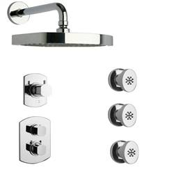 LaToscana - NOVELLO Shower Option 4 Chrome