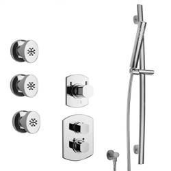 LaToscana - NOVELLO Shower Option 5 Chrome