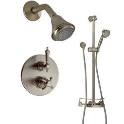 LaToscana - ORNELLAIA Shower Option 2 Brushed Nickel