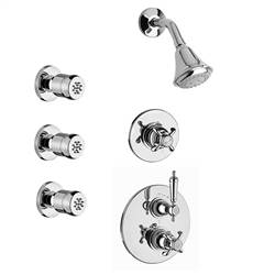 LaToscana - ORNELLAIA Shower Option 4 Chrome