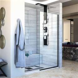 DreamLine Linea SHDR-3230721-09 Screen Shower Door in Satin Black