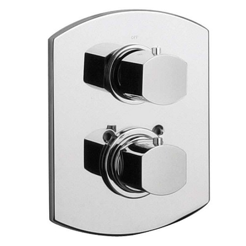 LaToscana - 86CR690 Chrome Thermostatic Valves & Trim
