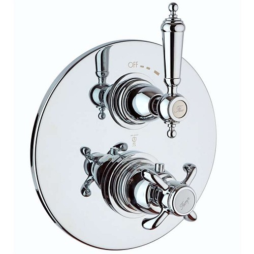 LaToscana - 87CR691 Chrome Thermostatic Valves & Trim
