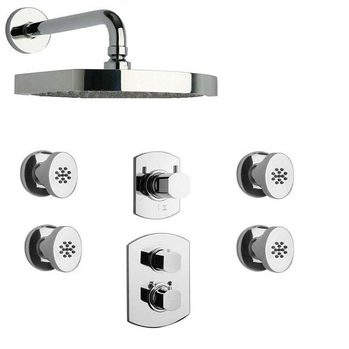 LaToscana - NOVELLO Shower Option 6 Chrome