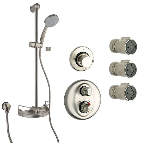 LaToscana - WATER HARMONY Shower Option 6 Brushed Nickel